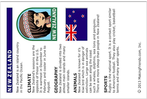 Girl Scout Brownies, A World of Girls Journey: New Zealand