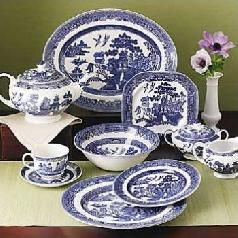 Antique Blue Willow Dishes | Antique Blue Willow China For Collection - InfoBarrel  Elizabeth used to #LOVE Antique Blue Willow.