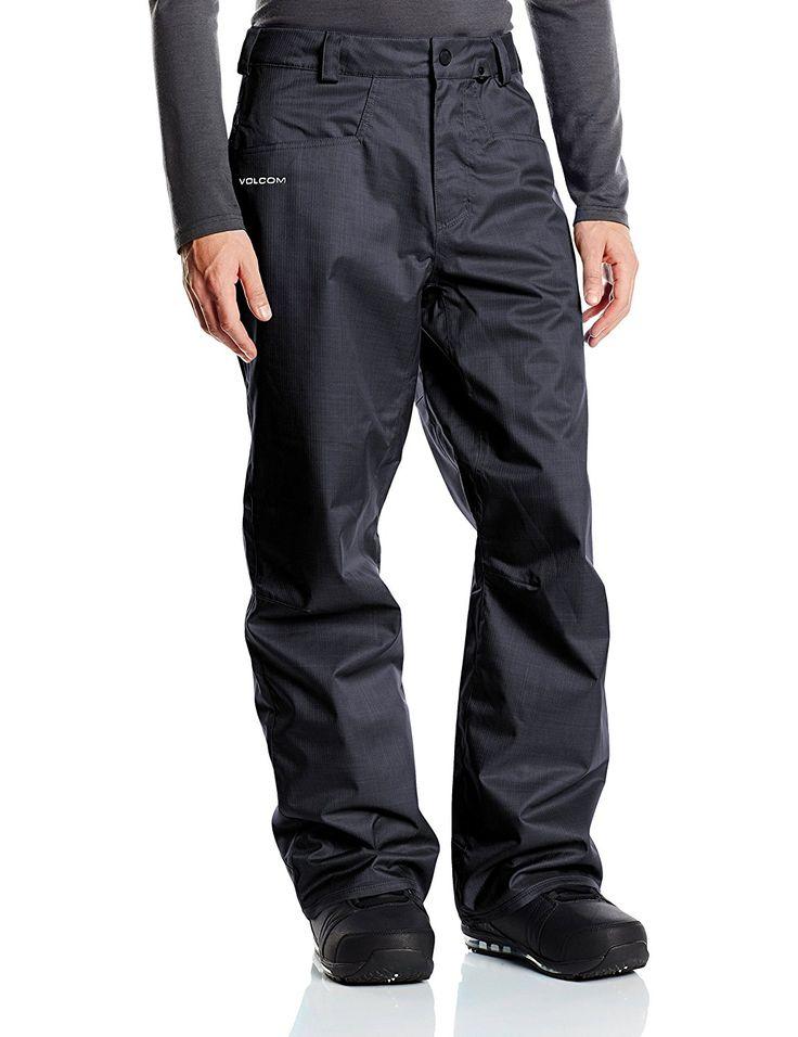Volcom Carbon Pantalon de ski Homme Charcoal FR : S (Taille Fabricant : S): Amazon.fr: Sports et Loisirs