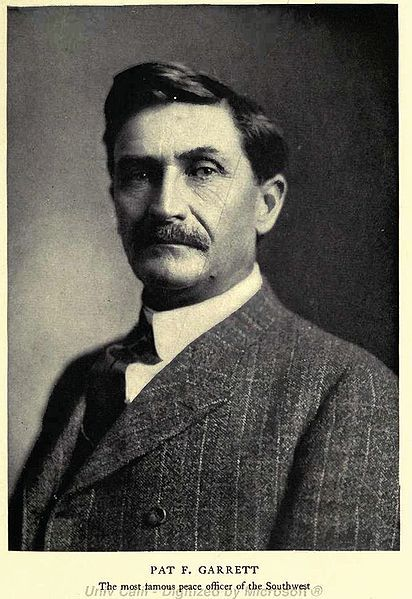 Pat Garrett, who killed famous outlaw Billy the Kid in the late 1800's