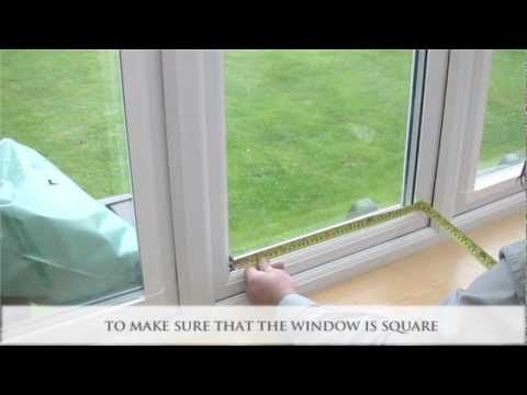 How to Measure and Install Perfect Fit Window Blinds - YouTube