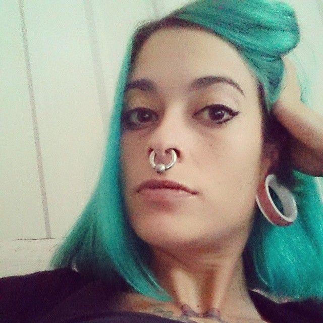 Women With Huge Septums Photo Pierced Girls