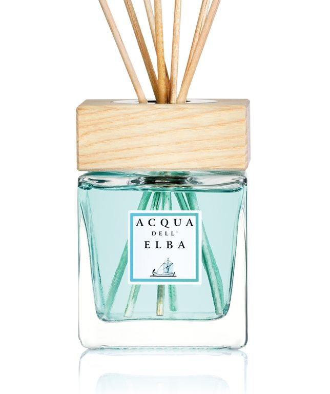 The Isola D'Elba home fragrance diffuser will have your home smelling like the Mediterranean sea. Specially handcrafted on the island of Elba in Tuscany.