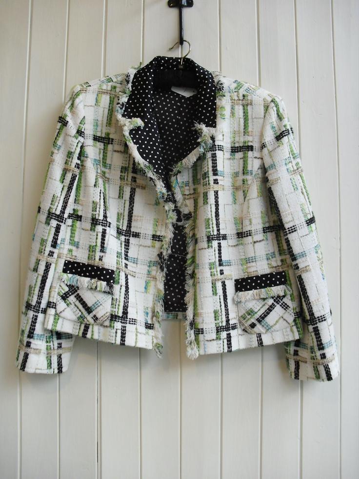 Boucle Jackets! Dana Buchman L84/4 £58.50