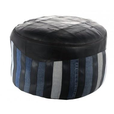 poufs chez marron rouge decodesign d coration articles. Black Bedroom Furniture Sets. Home Design Ideas