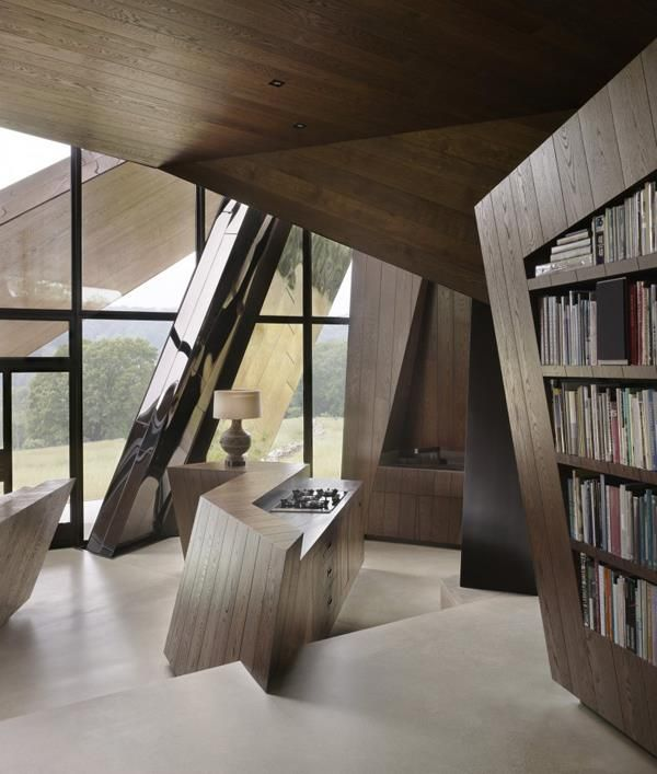 Daniel Libeskind House A Sculptural Architecture Masterpiece An Unlikely Work Of Contemporary Stands Alone On 54 Peaceful Acres In Western