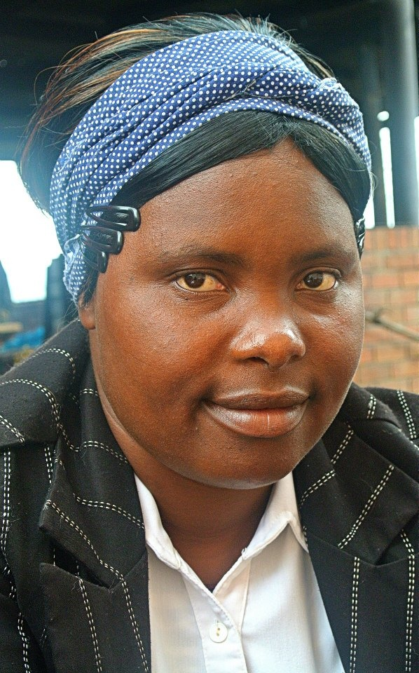 """Meet Bongiwe Gama from Zulwini: """"I started working with Gone Rural 4 years ago, weaving placemats & coasters. My life is amazing & flowing because of #GoneRural. I am now able to take care of my family, as my husband is not working. May God bless Gone Rural & everyone involved."""""""