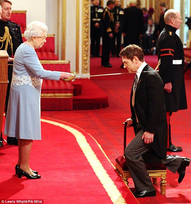 Kenneth Branagh, the 51-year-old thespian, one of the UK's finest actors and directors, was at Buckingham Palace on Friday to be honoured by the Queen.    He first performed for the monarch 30 years ago, when she saw him play Hamlet - now one of his trademark roles - as a 19-year-old student at RADA in 1980.
