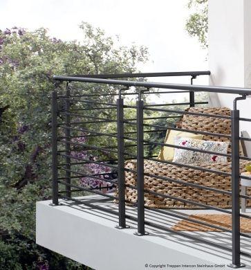 Balkongeländer, Geländersystem Vario jetzt hier kaufen bei Treppen Intercon