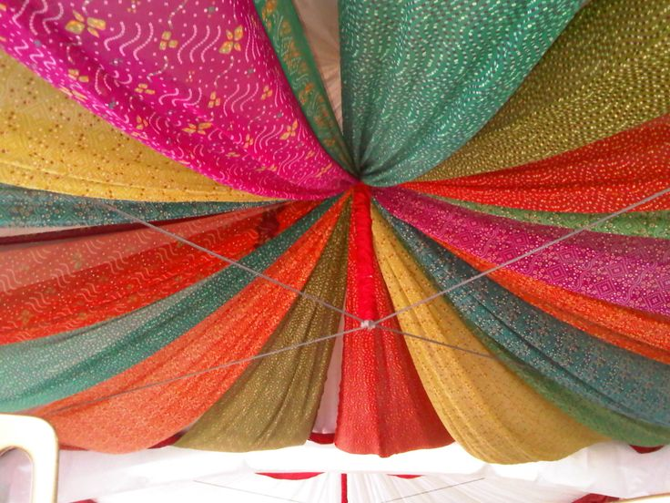 bollywood themed party | Indian themed Marquee Roof