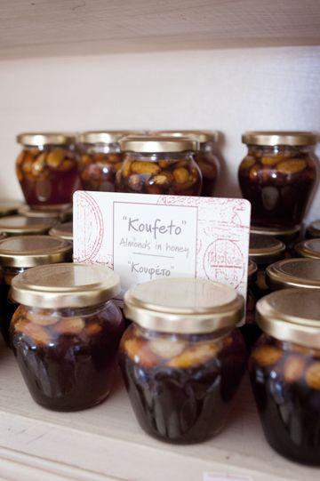 Faros Market: Organic traditional Food in Santorini koufeto