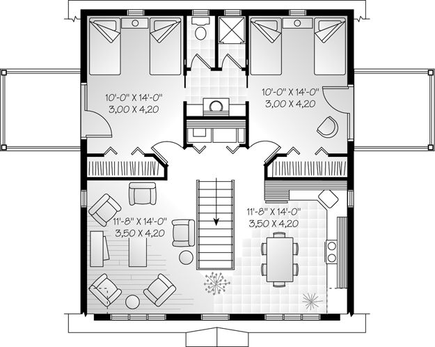 7 best jack and jill layouts images on pinterest for Ultimate garage plans