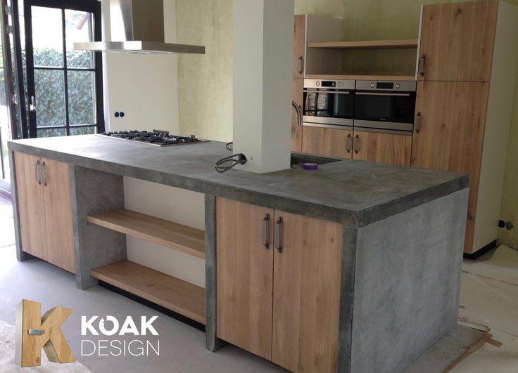 Bedwelming Beton - Koak Design Kitchens @HB37