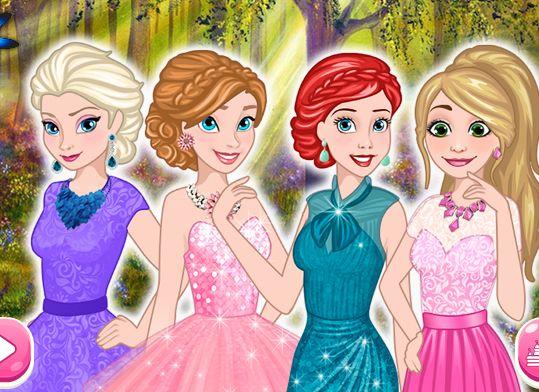 Disney kızları buluştular ve yürüyüşe çıkacaklar. Ancak kıyafetlerinin içinden yürüyüş için uygun olanları seçmeleri gerekiyor.  Dört kızı da ayrı ayrı giydirmelisin http://www.kizoyunlari.org/5445-Disney-Prensesleri.html