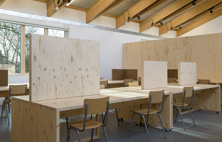 Aldworth James & Bond | Wimbledon College of Art - furniture manufacture by AJ&B