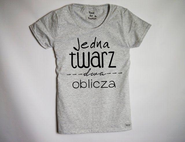 Oryginalna koszulka od Time For Fashion