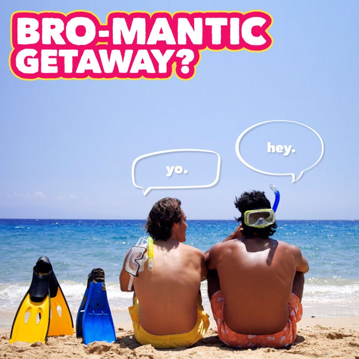 Nevermind Hangover-style bachelor parties - more men are taking the ultimate man-cation seeking adventure over relaxation.   Click to Bromance for less!