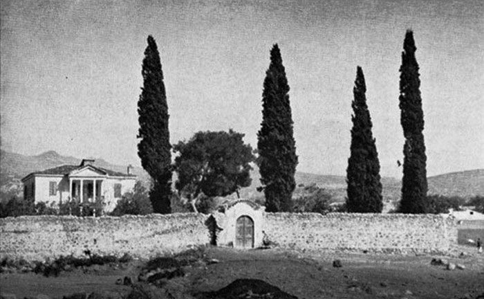 The former house of 'lord' Ioannis Kanas, the great benefactor of the Evangeliki and the Greek Hospital married to Maria Baltazzi daughter of Emmanuel. The house then passed to P. Kesisoğlu. This former house was situated on the outskirts of Bornova.
