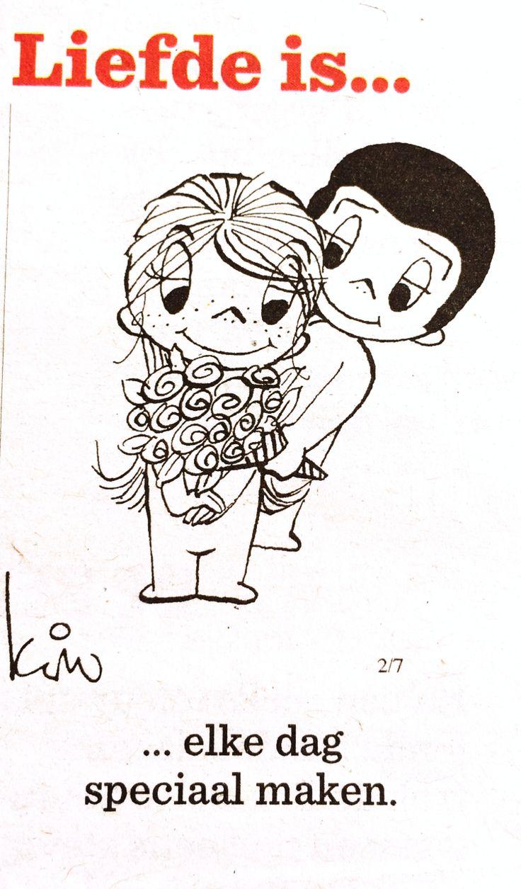 Liefde is... Elke dag speciaal maken.