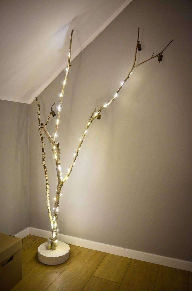 HOW TO MAKE DIY CHRISTMAS BIRCH TREE