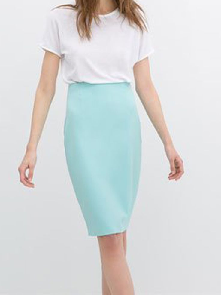 A pencil skirt is a must-have. It is not limited to your work attire but can be casually dressed with a blouse for day or night wear