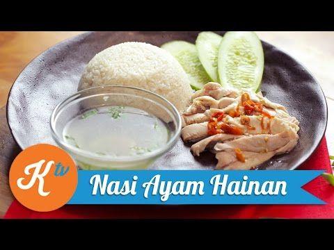 Nasi Ayam Hainan adalah salah satu makanan populer di beberapa negara, salah satunya di Indonesia. Nah, kali ini Martin Natadipraja akan ngasih tahu cara membuat Nasi Ayam Hainan yang praktis dan juga lezat.    Sumber : Youtube.com kokiku TV