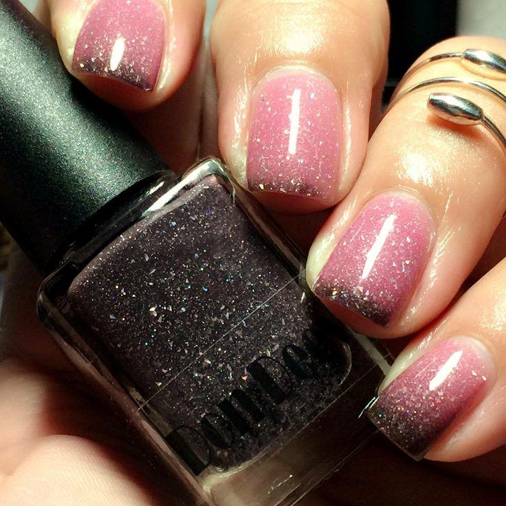 dark pink nails - 736×736