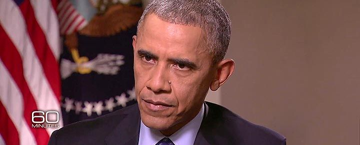 WOW Obama gets ANGRY at Steve Kroft for pointing out how Putin is EMBARRASSING him.