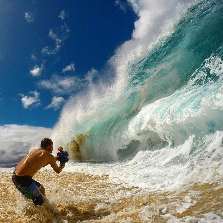 This is how you capture a shorebreak