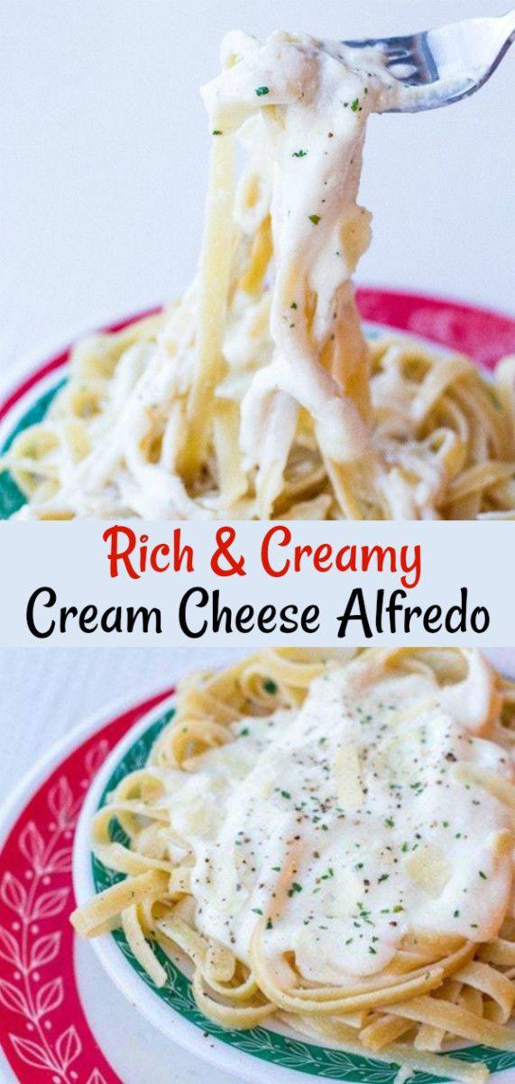 Recipe For Alfredo Sauce Using Cream Cheese