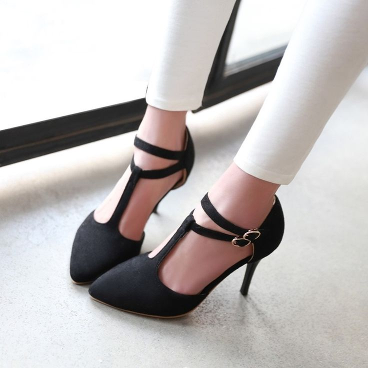 Cheap pointed toe, Buy Quality pointed toe shoes directly from China women shoes pointed toe Suppliers: 2017 fashion women Pointed Toe shoes small yard 33 temperament big size 40-43 comfortable shoes high-heeled sandals Sexy T type