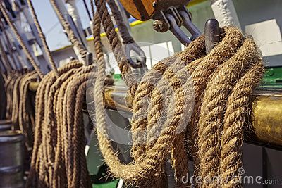 Aged Marine Ropes - Download From Over 23 Million High Quality Stock Photos, Images, Vectors. Sign up for FREE today. Image: 41112308