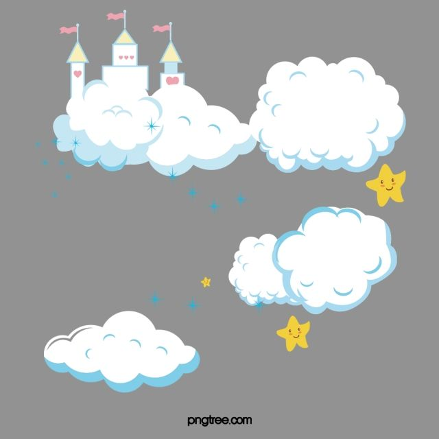 كرتون الغيوم الغيوم بايون الغيوم Png وملف Psd للتحميل مجانا Cartoon Clouds Clouds Cartoon