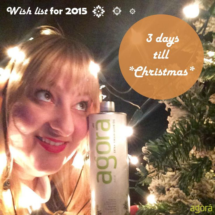 Kiriaki, from mana Greek baby food, is counting down till the big day..Christmas is coming & all is calm, all is bright!
