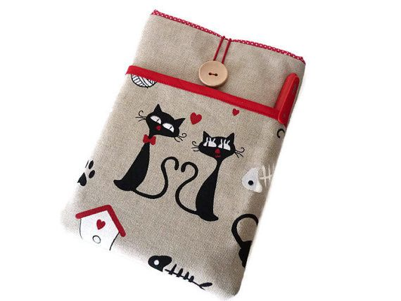 kindle sleeve , eReader case Cats, from Driworks by DaWanda.com