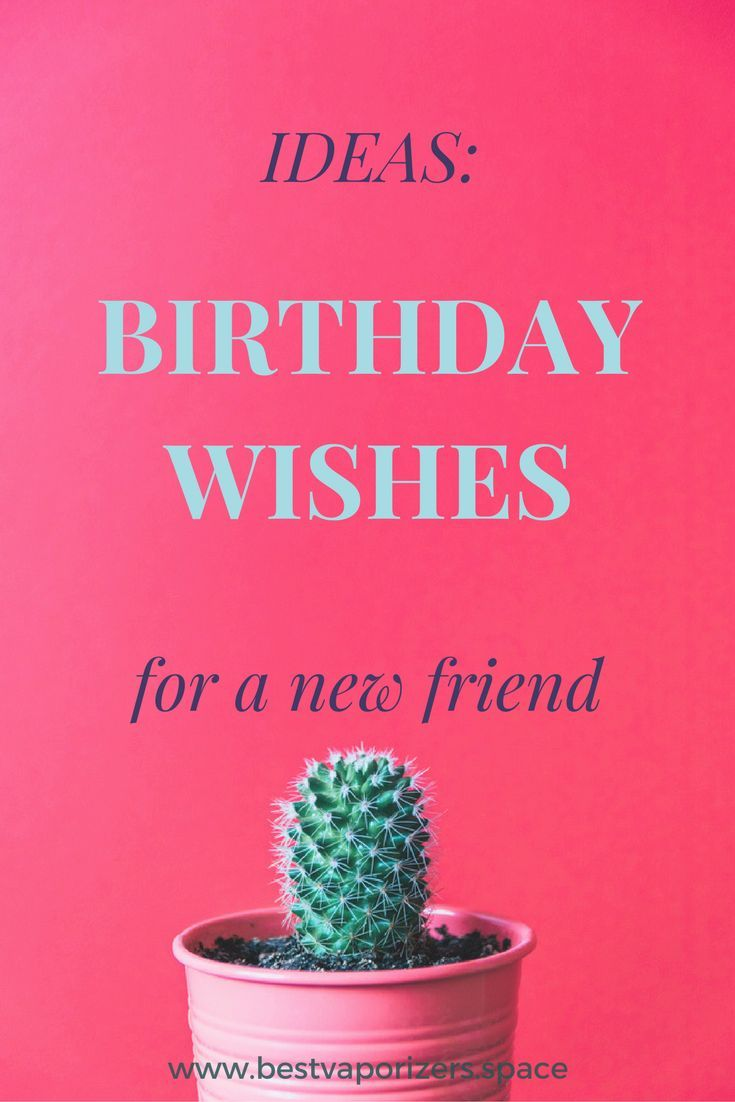 Best Birthday Wishes For A New Friend Birthday Message For