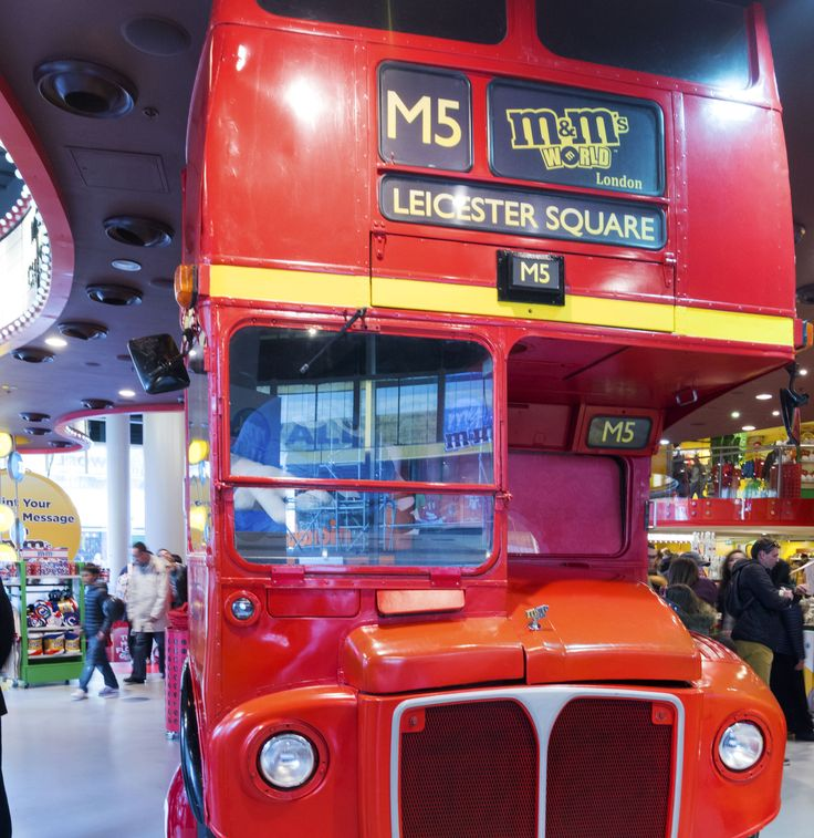 The M&M Bus in Liecster Square