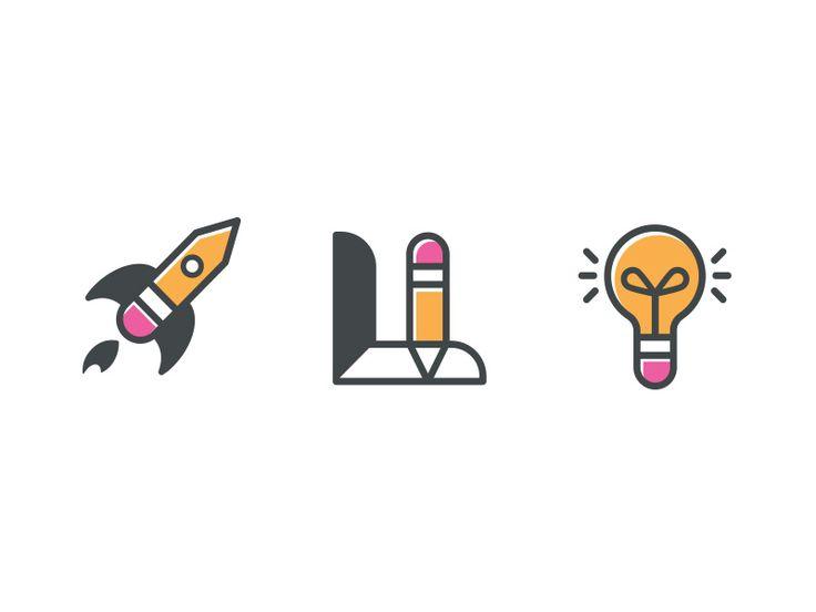 Flippbooks Icon Set