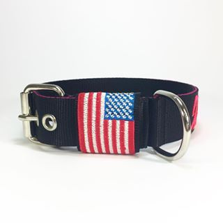 #happy4thofjuly Friends 🇺🇸 . . . #dogcollar #customcollar