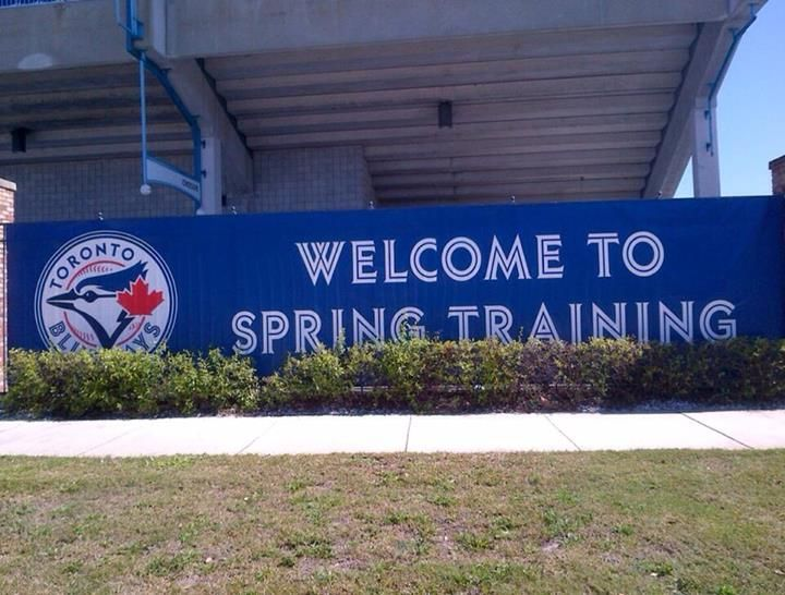 Toronto Blue Jays The wait is finally over! Blue Jays Spring Training officially kicks off today!  https://www.facebook.com/BlueJays