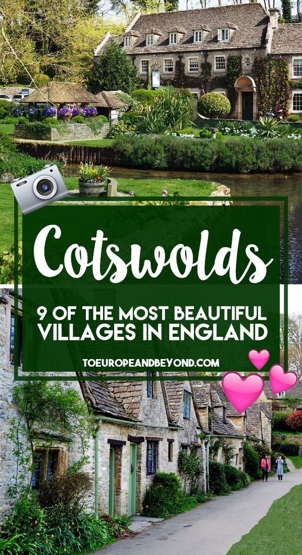 13 Beautiful Cotswolds Villages You Need To See via @marievallieres