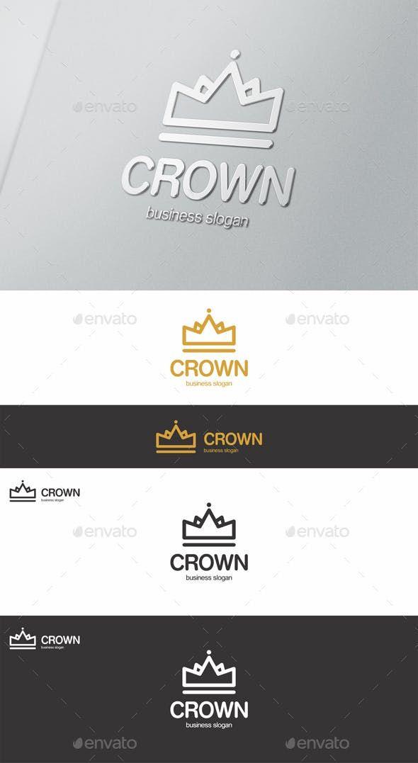 Crown Logo Crown Logo Logo Design Template Logo Design
