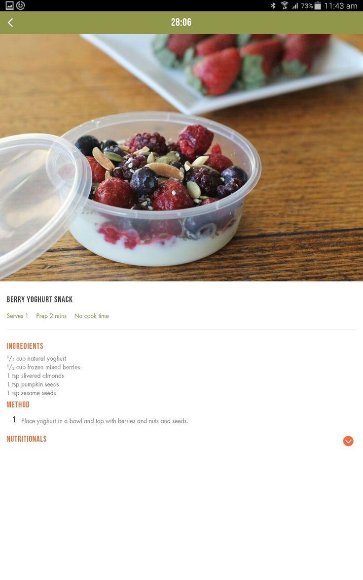 Yoghurt snack