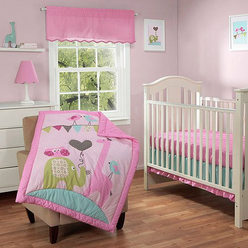 baby boom circus friends 3pc crib bedding set value 87354
