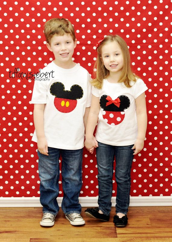 Mickey Mouse Shirt or Onesie by AStitchUponAStar on Etsy, $24.95