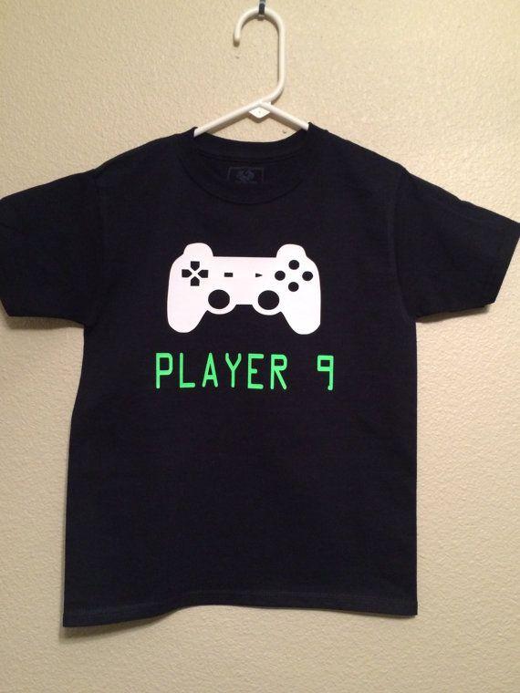 Gamer Birthday Shirt Kids Video Game by RKCreativeImpression