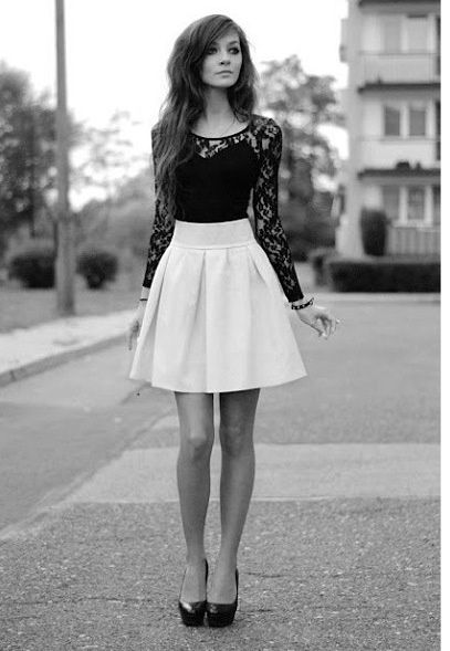 Wish   Lace Top And Skirt