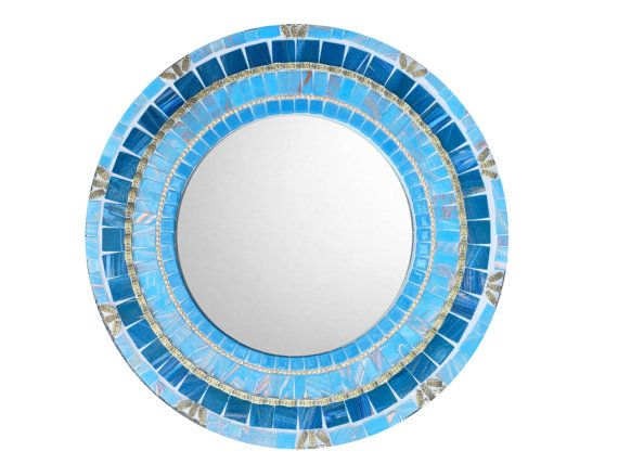 Blue Wall Mirror 519 best mosaic mirrors images on pinterest | mosaic mirrors