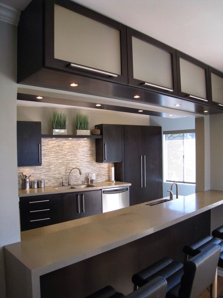 35 best images about cocinas on pinterest dining room for Contemporary style kitchen cabinets