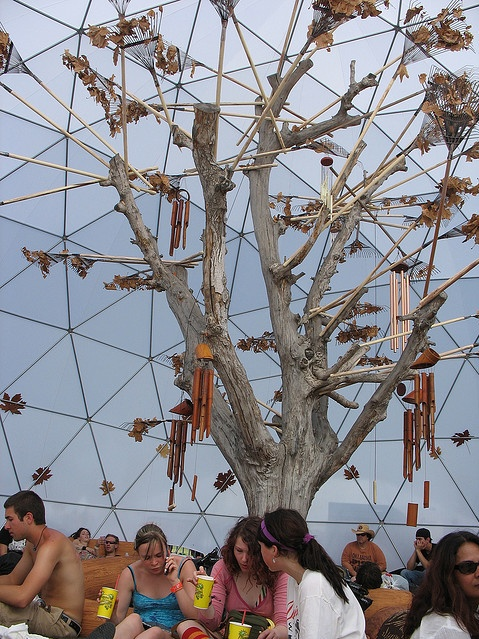 Autumn Dome at Coachella '07 - part of a 4 season series
